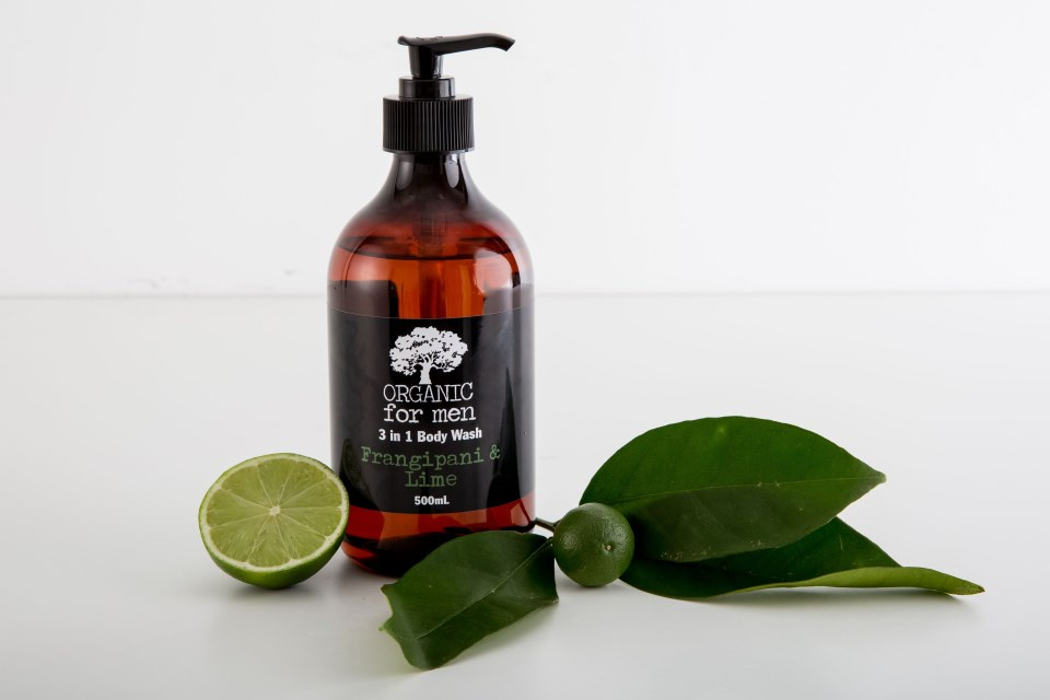 Organic for Men - 3 in 1 Body Wash