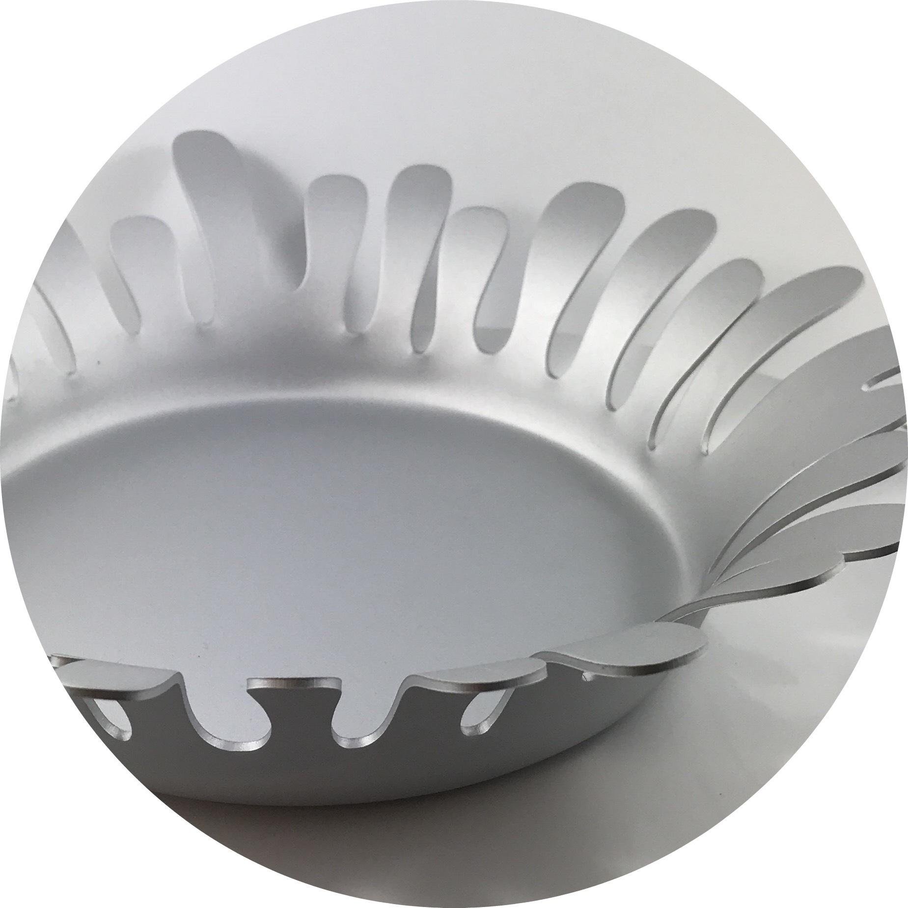 Steven Worthington - Anodized aluminium bowls