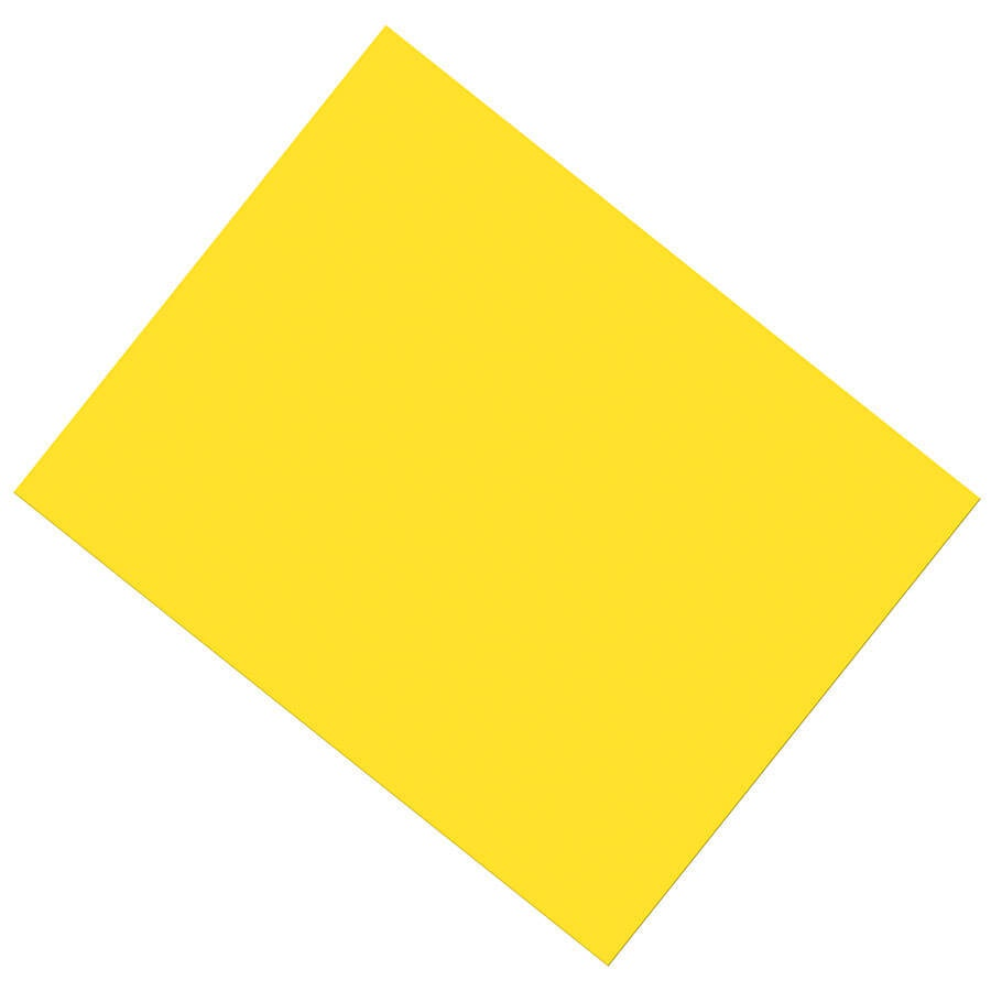 PA 53831 COATED POSTER BOARD YELLOW