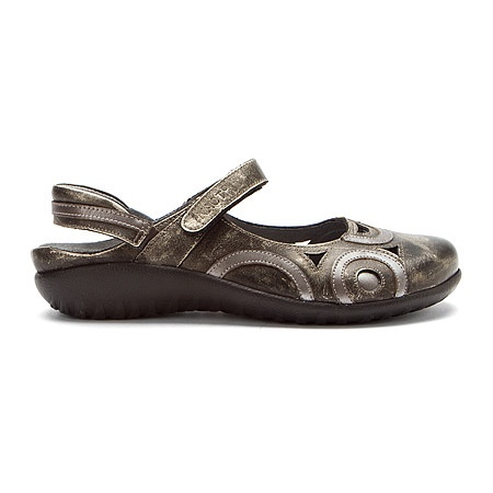 Naot Women's Rongo Wide - Metal Leather/Mirror Leather