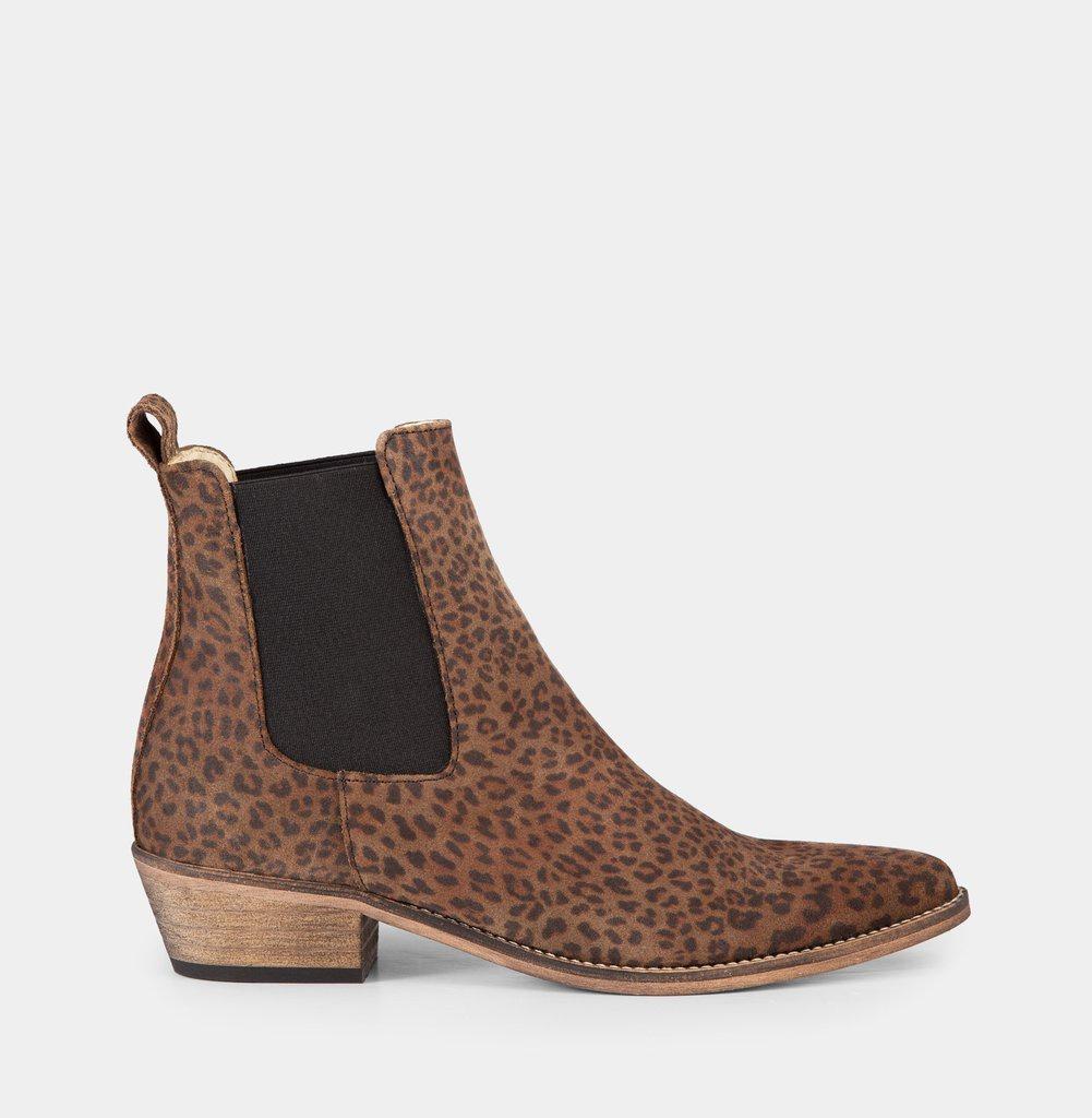 Ivy Lee Copenhagen Stella Leopard Boots