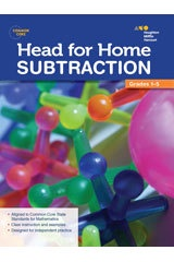 X SV 544250215 HEAD FOR HOME MATH SKILLS SUBTRACTION