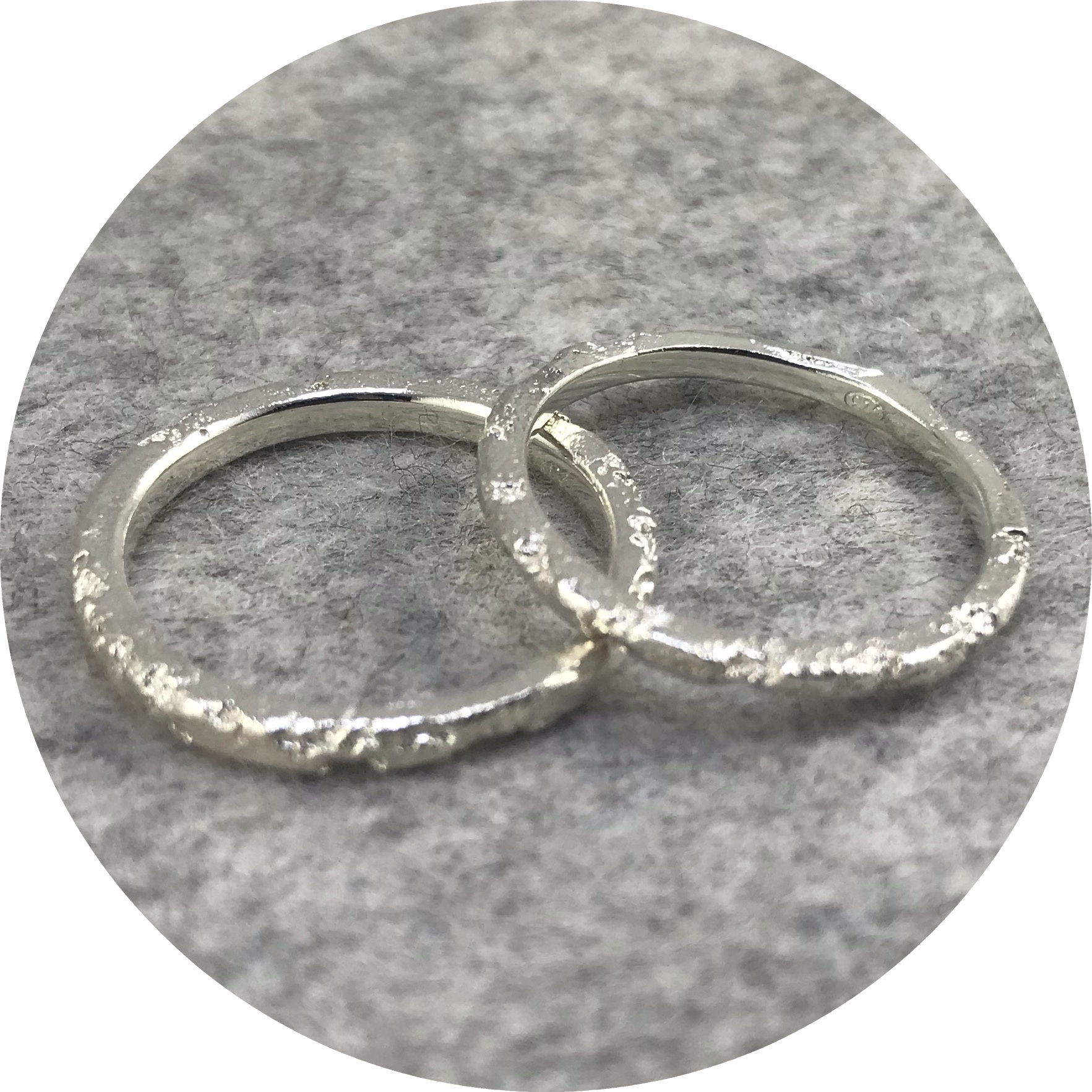 Albert Tse - Crater 2mm Sterling Silver Ring
