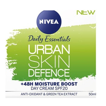 NIVEA URBAN SKIN DEFENCE DAY CREAM