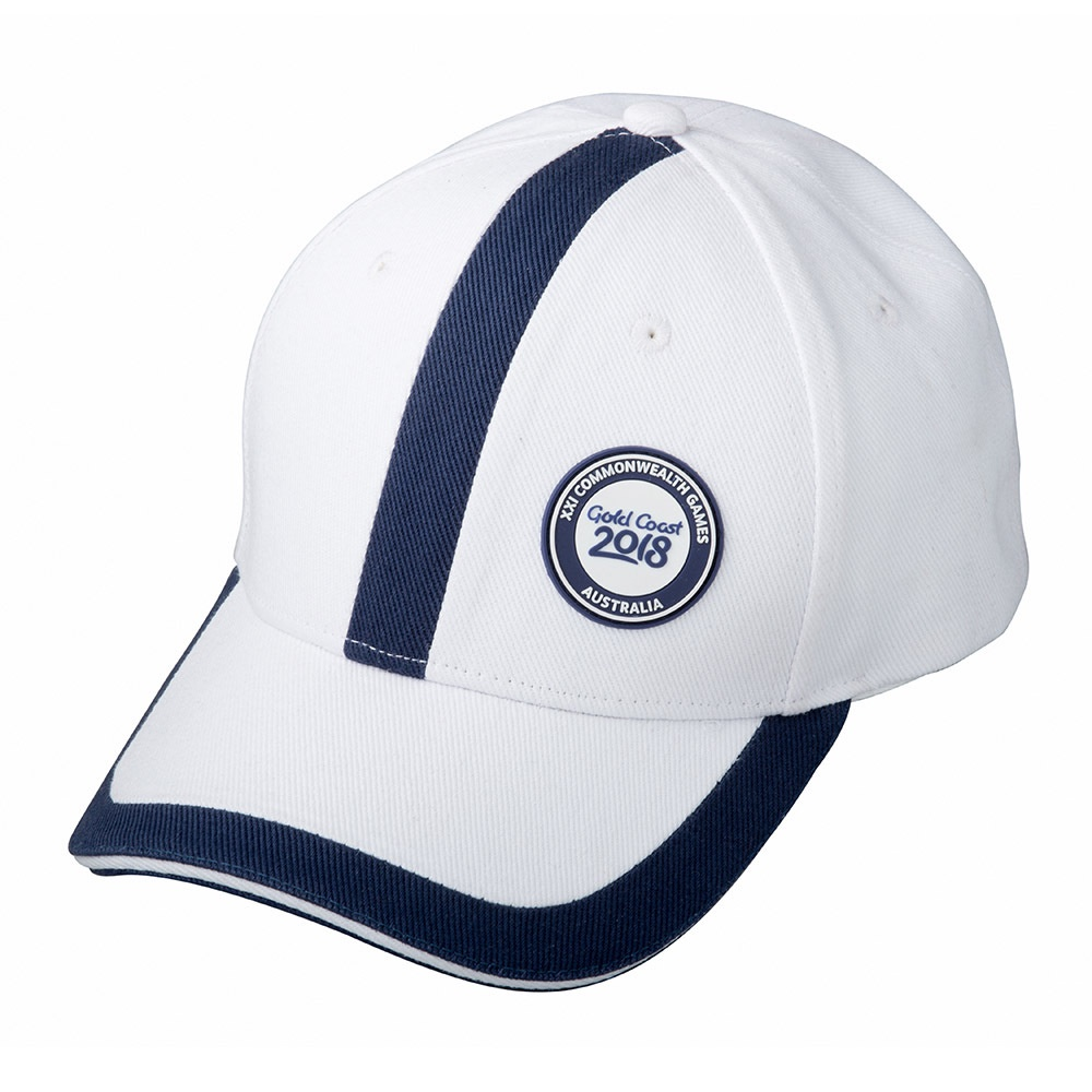 GC2018 Panel Cap White/Navy