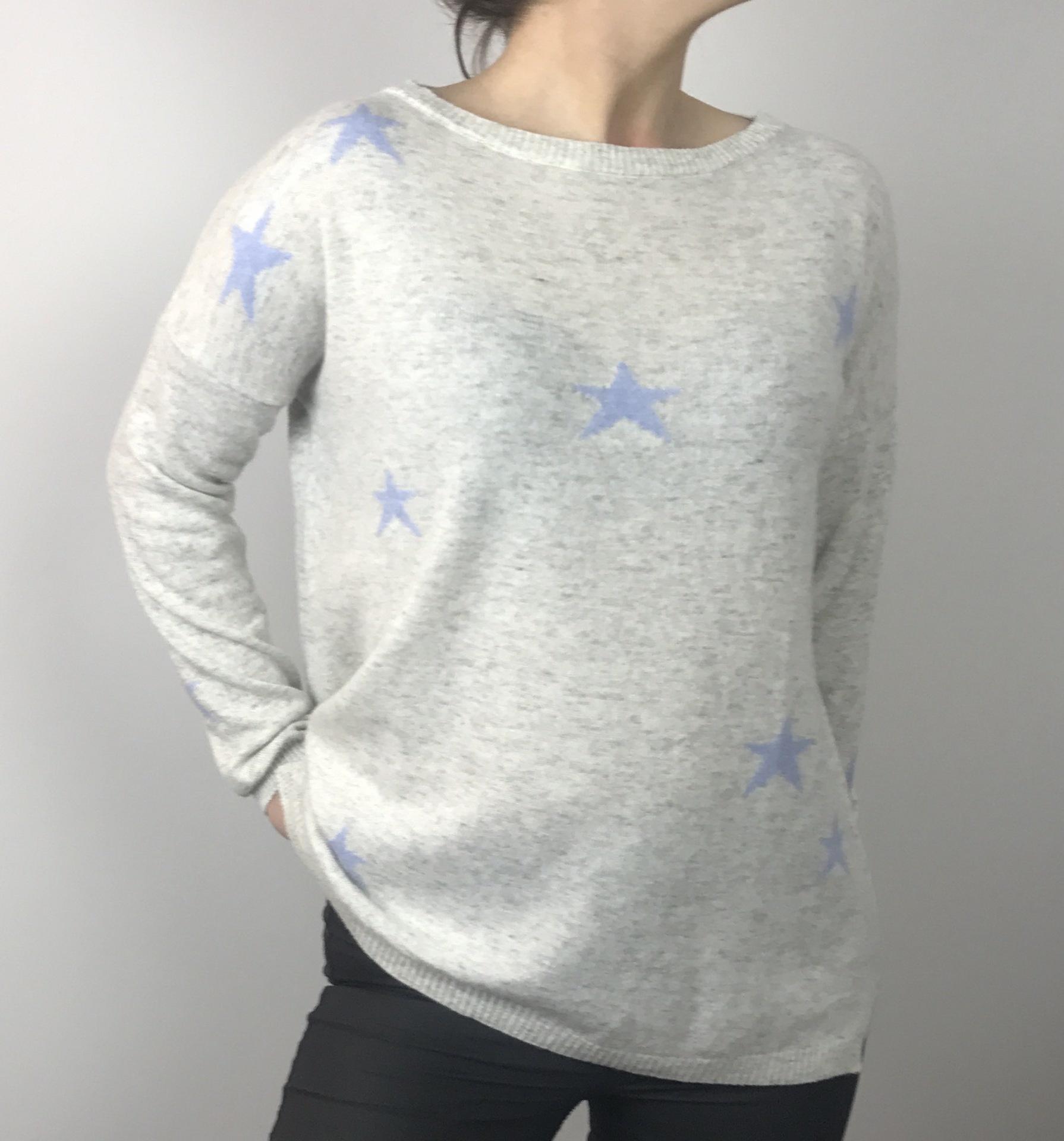 Luella Blue Multi Star Knit