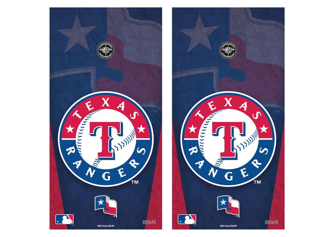 quality design ad758 86e3d MLB Texas Rangers Vinyl Shield MLB Texas Rangers