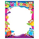 X T 38451 OWL-STARS WELCOME CHART