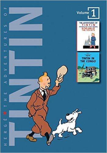 Adventures of Tintin 2-In-1 HC Vol 01 Congo-Soviet