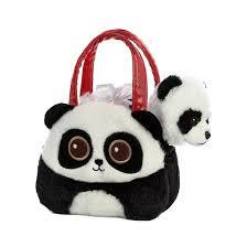BRIGHT EYES PANDA CARRIER