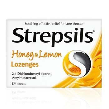 STREPSILS HONEY AND LEMON 24'S