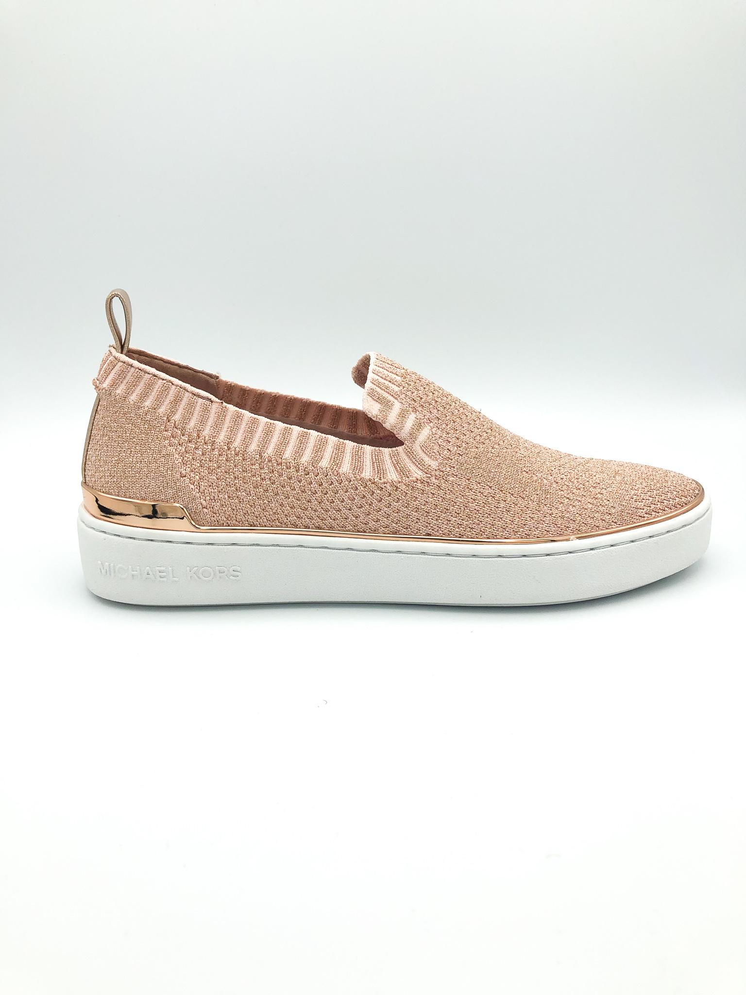 d8a93b065 MICHAEL KORS - SKYLER SLIP ON IN ROSE GOLD - the Urban Shoe Myth