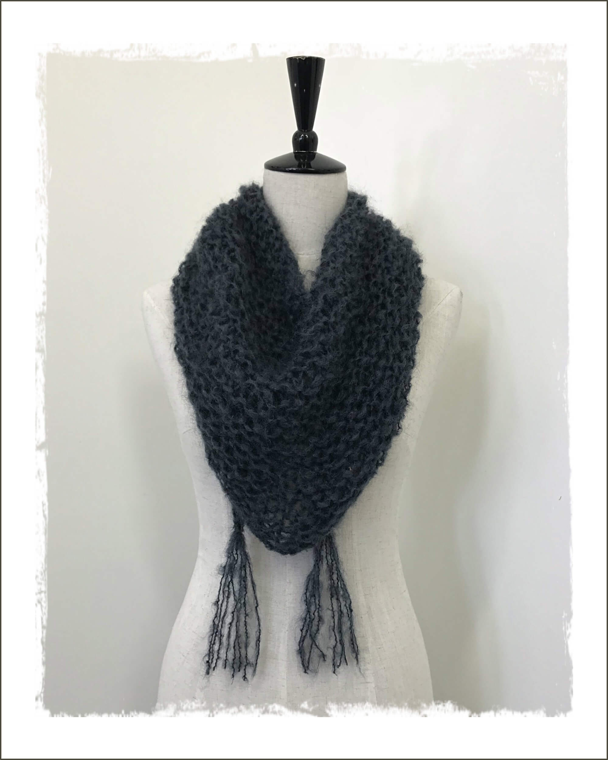 Soft & Lofty Mohair Scarf Pattern