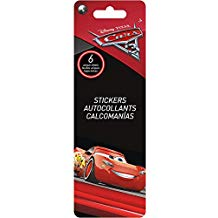 STICKERS 6 CARS 3