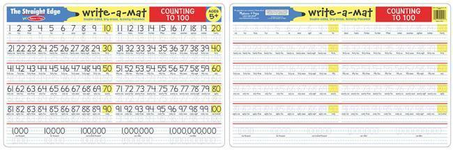 MD 5012 COUNTING WRITE A MAT