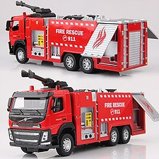 WATER CANNON FIRE TRUCK 1:50