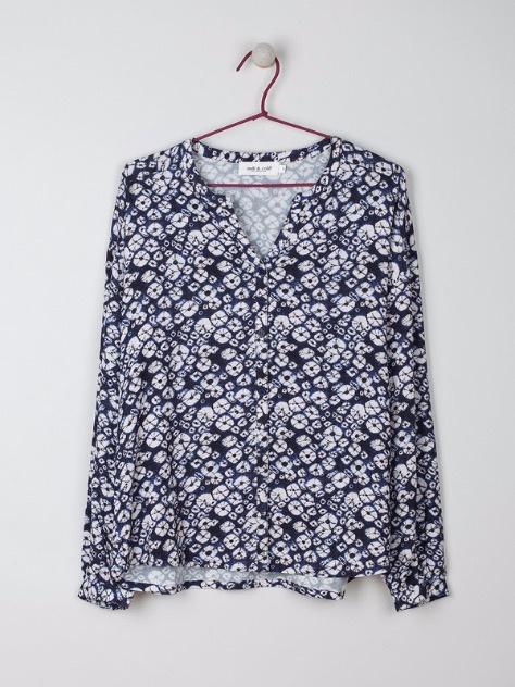 Indi & Cold Blouse Camisa Marino