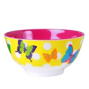 Ginger Butterflies Bowl