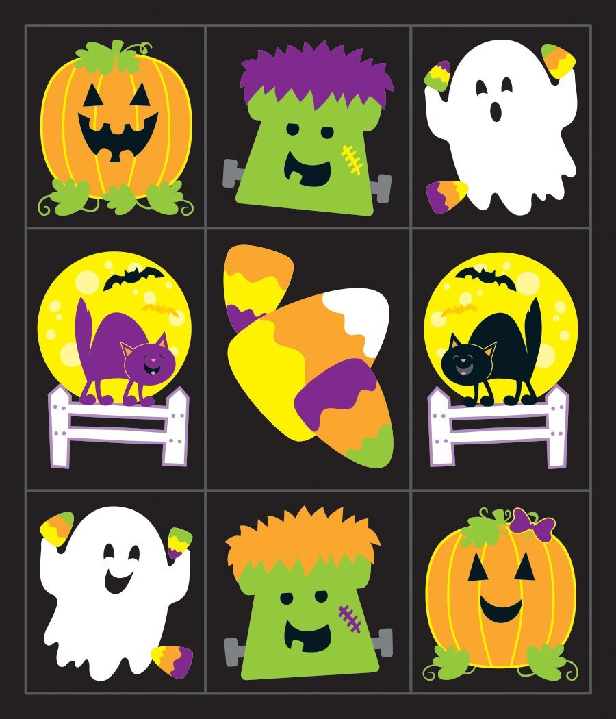 CD 168221 HALLOWEEN PRIZE PK STICKERS