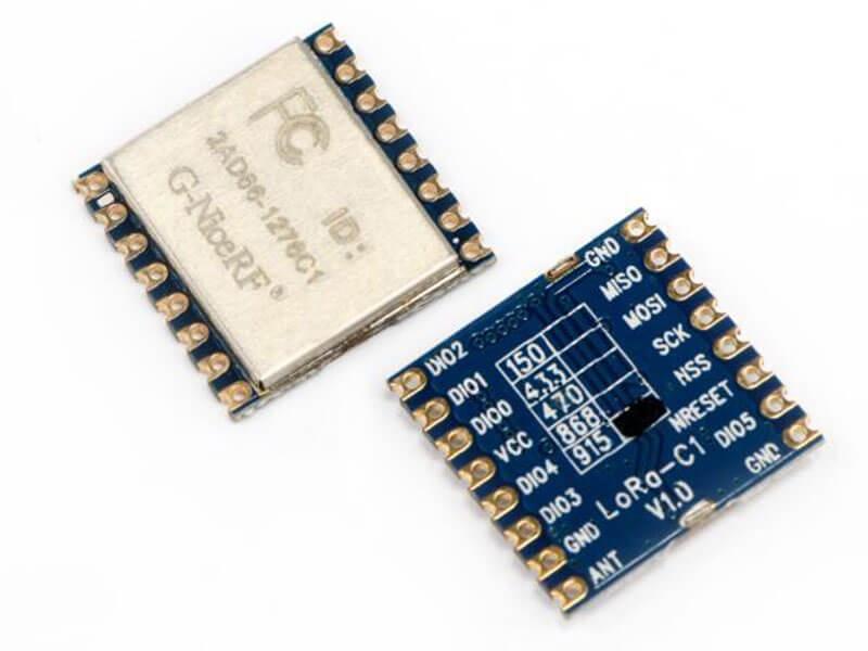 LoRa SX1276 915MHz Breakout Module + Helical Antenna