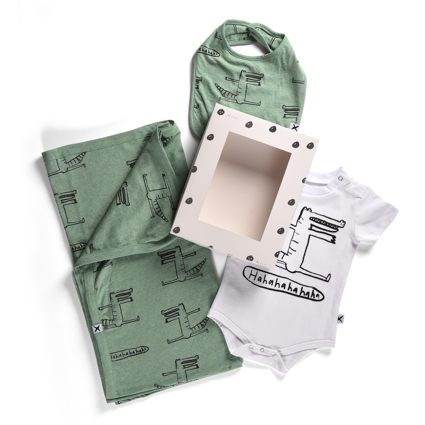 Minti Cheeky Crocodile Gift Pack