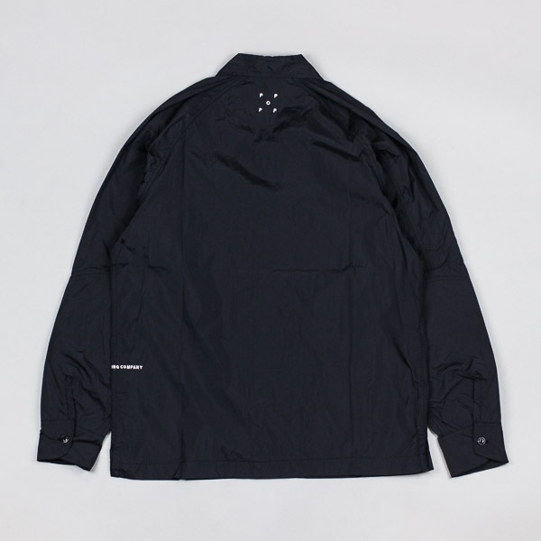 Pop Trading Company Herman Nylon Shirt Black