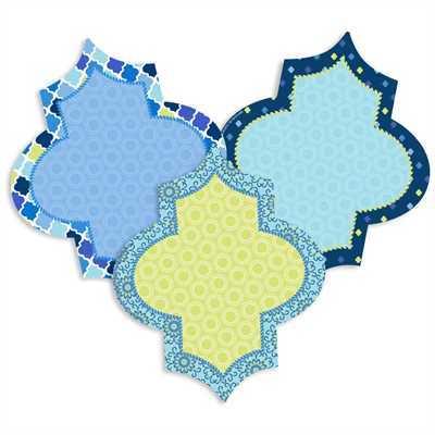 EU 841357 BLUE HARMONY DIAMONDS CUTOUTS