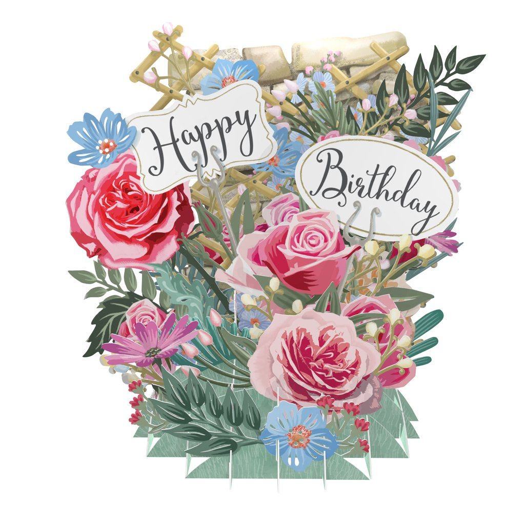 Birthday flowers top of the world pop up greetings card tw030 birthday flowers top of the world pop up greetings card tw030 popup 3d cards nonsuch izmirmasajfo Gallery