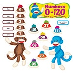 X T 8298 SOCK MONKEYS NUMBER 0-120 BBS