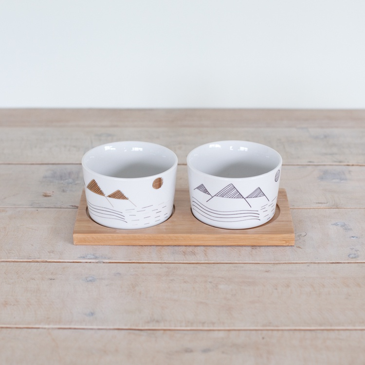 George & Co Dip Bowls set - Alpine