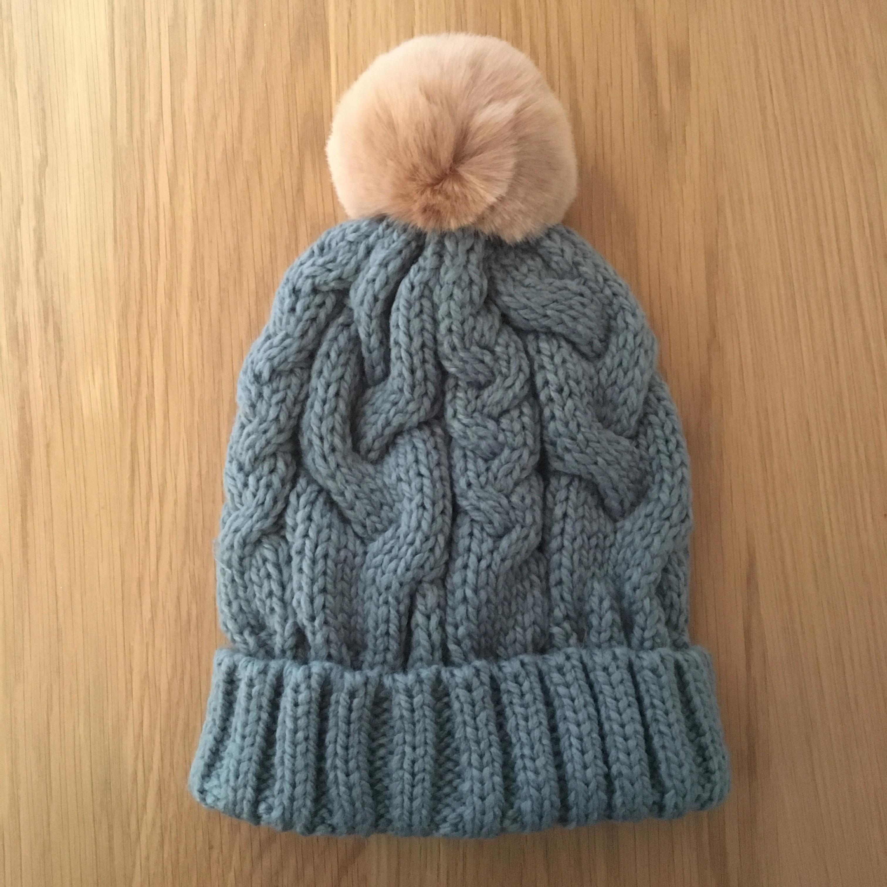 c7be078aa Charlotte Ice PomPom Hat