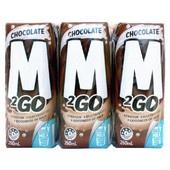 M2Go Chocolate  Flavoured Milk 6x250ml