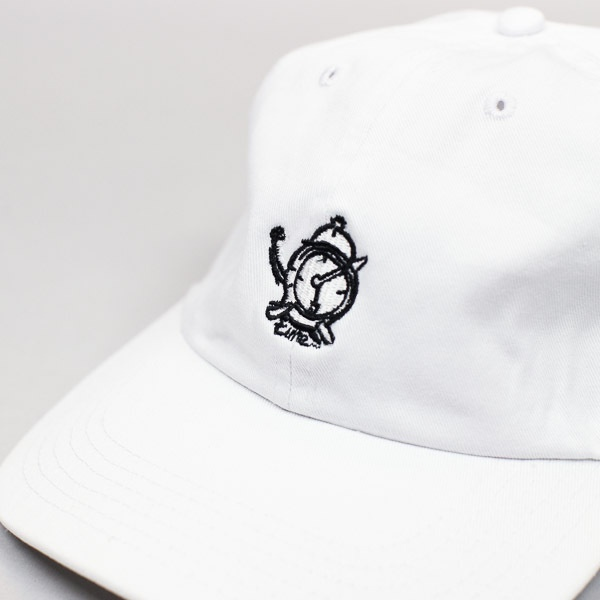 Last Call x Time 6 Panel Hat White