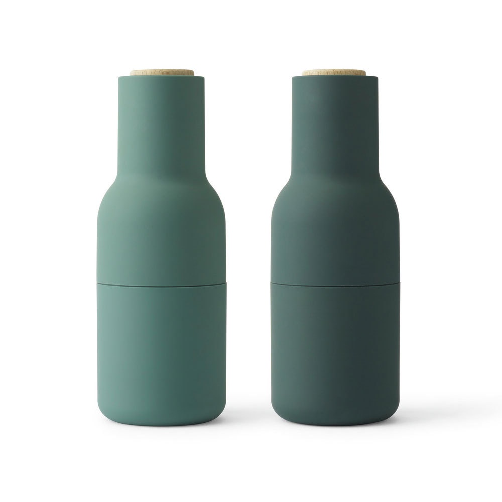 BOTTLE GRINDER DARK GREEN