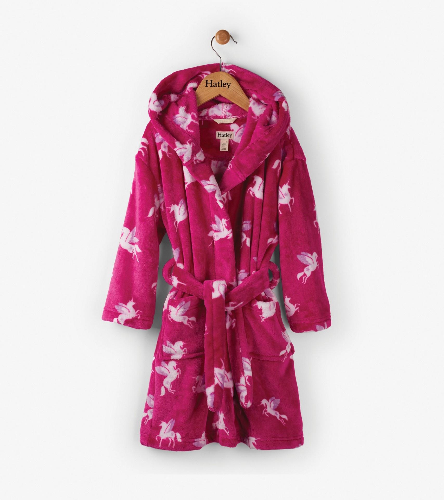 Winged Unicorns Kids\' Fleece Robe | Pyjamas & Dressing Gowns | Nonsuch