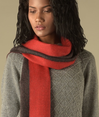 DOUBLE FACE SCARF 1074-02 C001