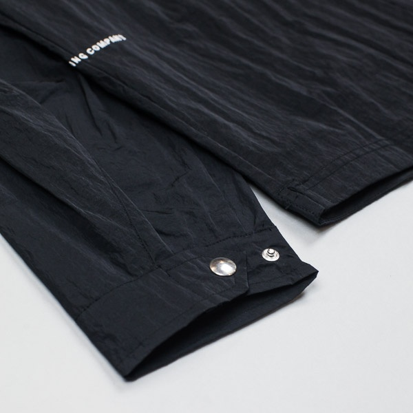 Pop Trading Company Falling Down Overshirt Black