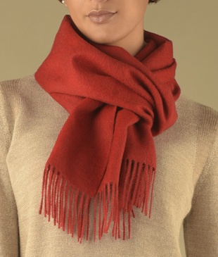 LONG BRUSHED SCARF M3998