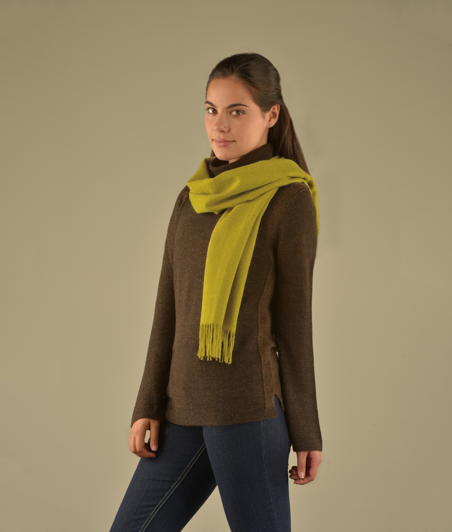 BRUSHED SCARF AM8549