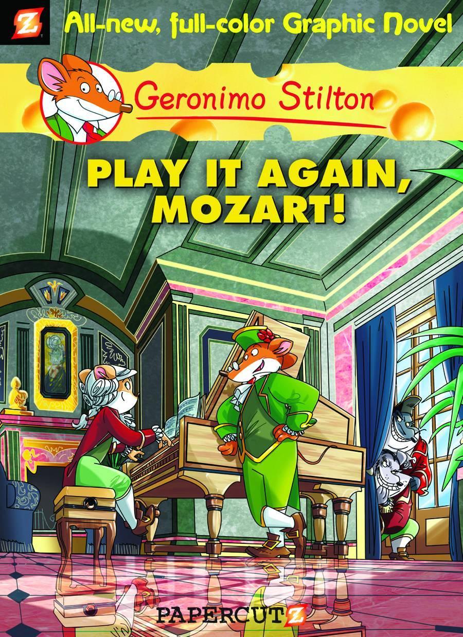 Geronimo Stilton HC Vol 08 Play It Again Mozart