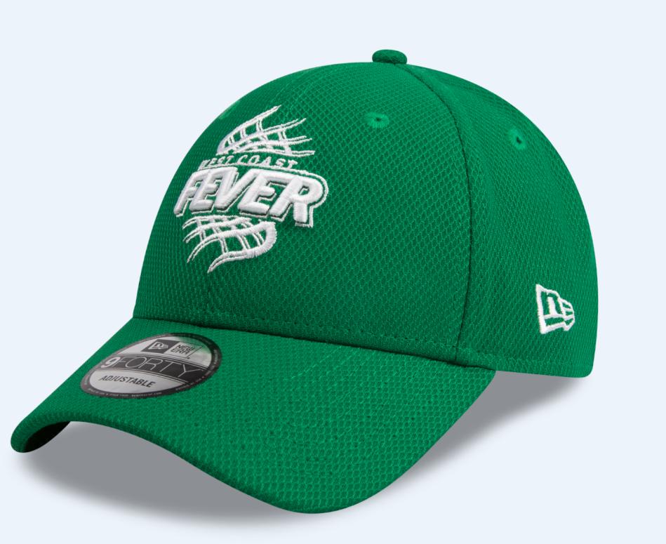 West Coast Fever New Era Hat - Green/ White