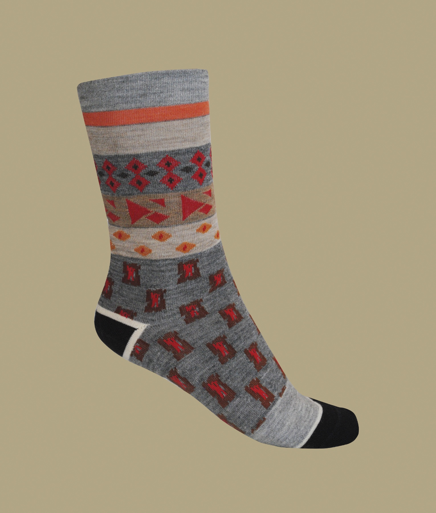 GEO MIXED LADIES SOCKS C001