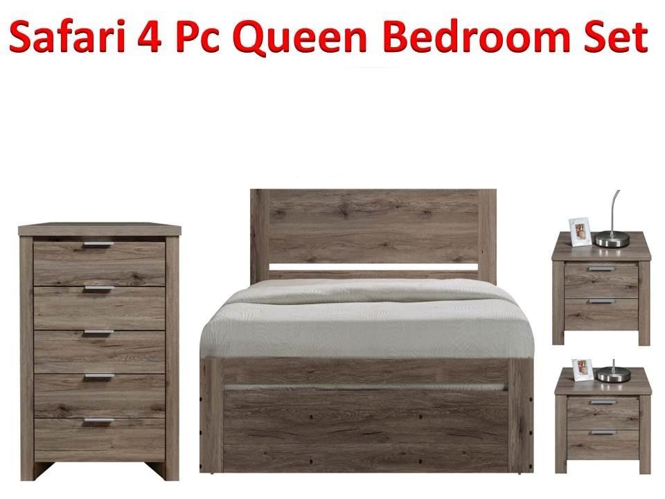 Safari Pc Bedroom Set BEDROOM SUITES Lifestyle Furniture - Lifestyle furniture bedroom sets