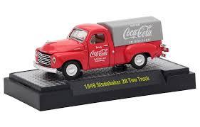 M2 Machines Coca Cola 1949 Studebaker 2R Tow Truck 1:64