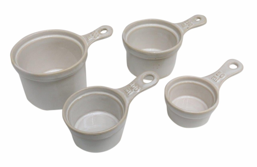 CC Interiors China Measuring Cup Set of 4