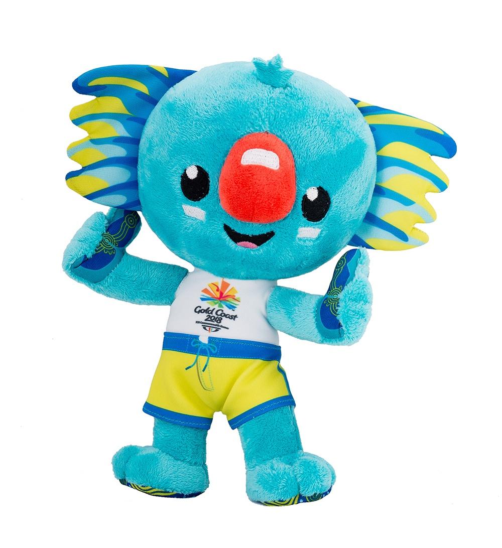 20cm Borobi Mascot Plush Toy Image
