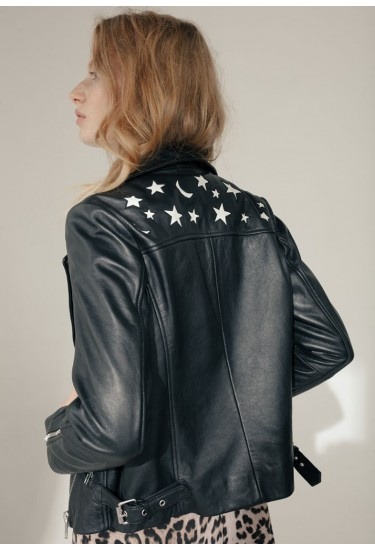 Zadie Leather Jacket by Lily & Lionel