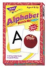 T 58001 ALPHABET MATCH ME CARDS