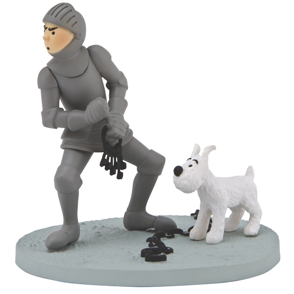 Tintin Box Scene Armour