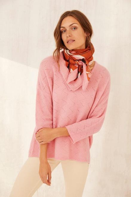 Part Two Birgitte Pullover Sea Pink